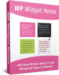 WP-Widget-Notes-Box